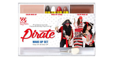 Maquillaje Pirata