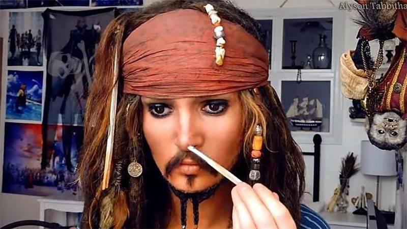 Pirata del Caribe Mujer